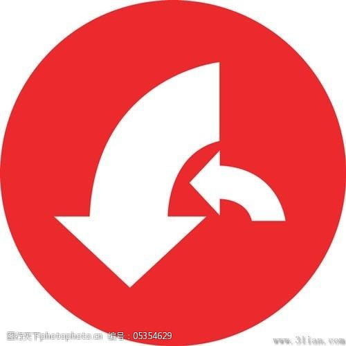 箭头图标免费下载红色背景箭头图标
