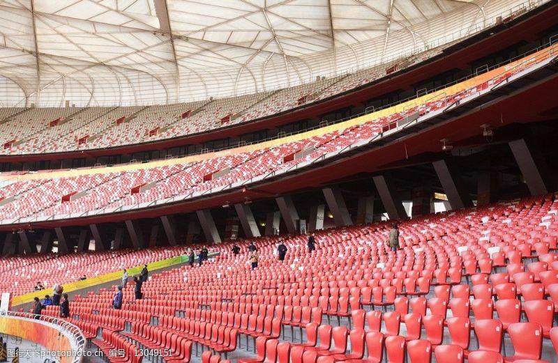 奥运会建筑鸟巢图片