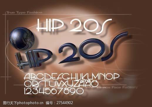 truetypePPhip20s字体