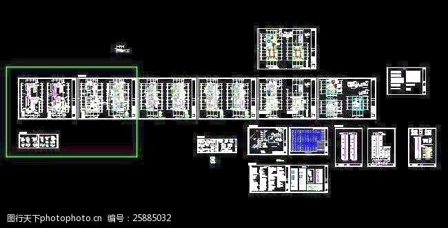 苏宁电器商场23层高空调通风及防排烟设计图