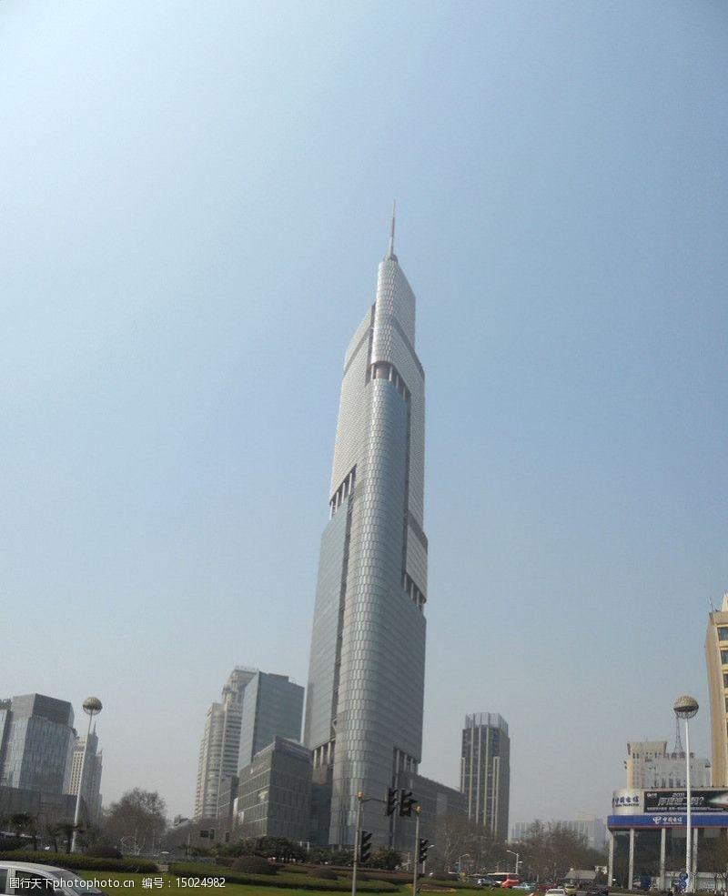 奥运会建筑紫峰大楼图片
