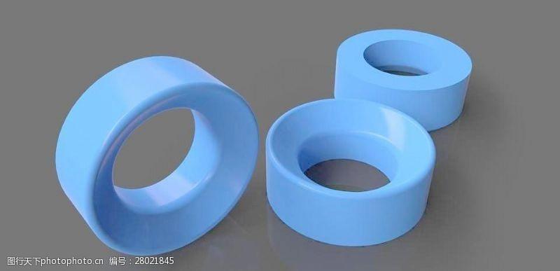 复合材料的真空3通调节球密封