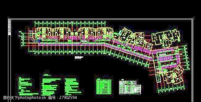 地下室车库防排烟及通风设计图
