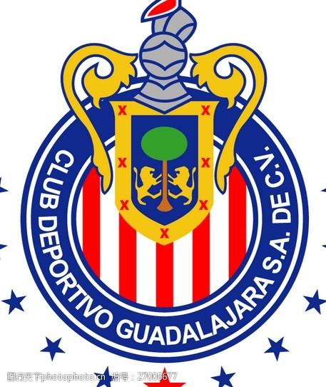 Chivas_Guadalajara(1)logo设计欣赏Chivas_Guadalajara(1)体育LOGO下载标志设计欣赏