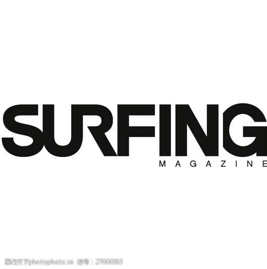 Surfing_Magazinelogo设计欣赏Surfing_Magazine体育LOGO下载标志设计欣赏