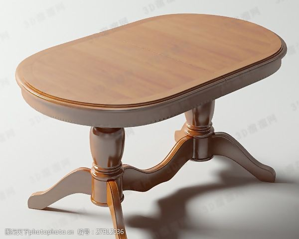 max20093D餐桌模型
