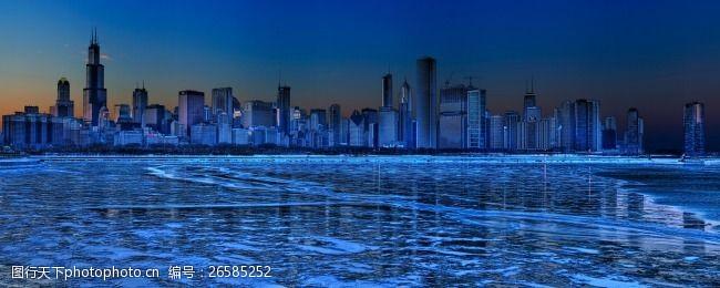 芝加哥夜景风光2