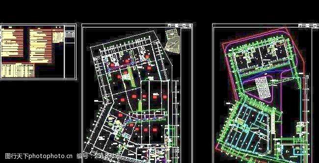 地下室防排烟平面图