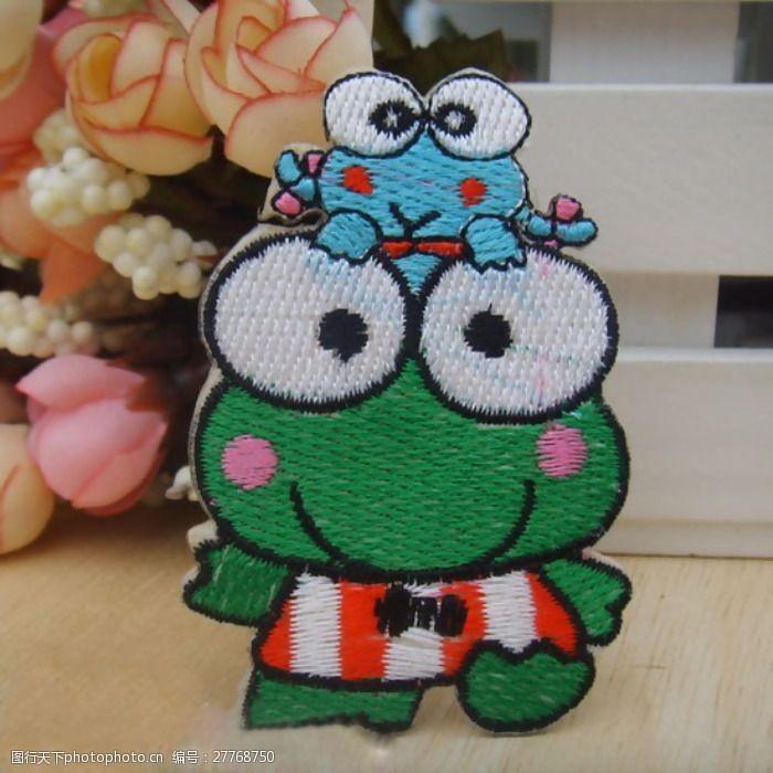 可洛比青蛙贴布可洛比青蛙免费素材
