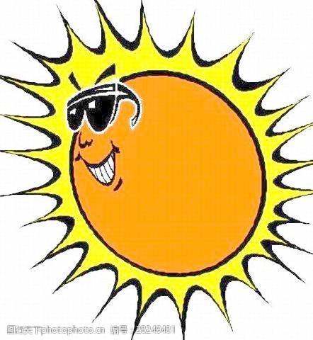 矢量传统图案夏天太阳