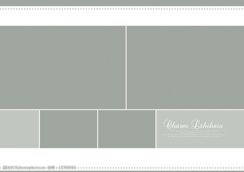 婚纱模板素材下载简约婚纱写真模板图片