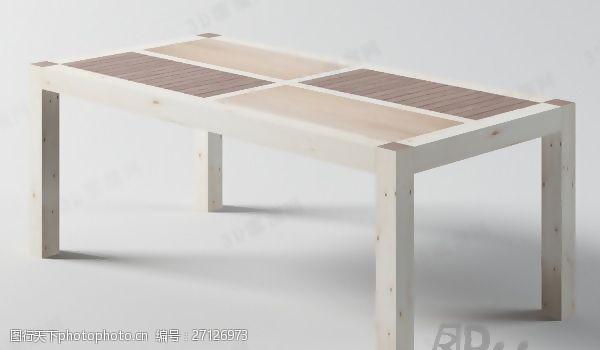max20093D桌子模型