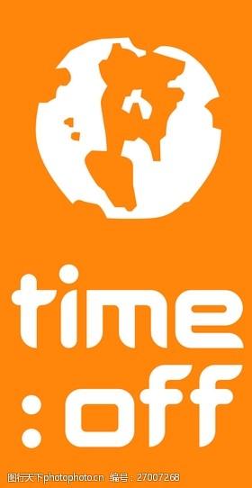 time_offlogo设计欣赏time_off旅游业标志下载标志设计欣赏